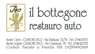 Il bottegone rastauro auto - sticker